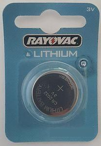 Rayovac® CR2450 3v Lithium Battery